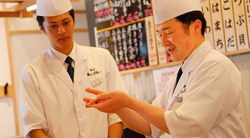 寿司調理技術研修